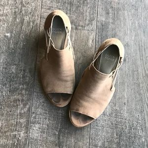 Eileen Fisher Open Toe Booties